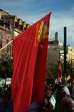 La marche de dignité une protestation 35 Images stock