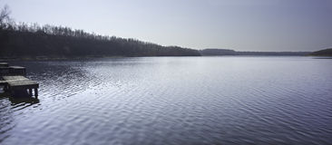 La mare a  Goriot (lake) in Wallers Arenberg, Fran Stock Photo
