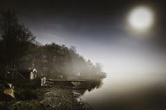 La marea está en influencia Imagen de archivo