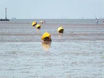 La marea está hacia fuera Imagen de archivo libre de regalías