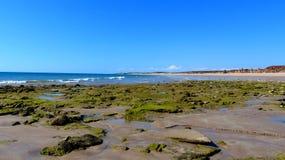 La marea está hacia fuera en la colina del granero Imagen de archivo