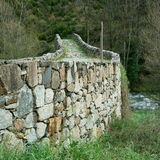 La Margineda romanesque bridge Stock Photography