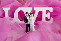 La mariée et le marié images libres de droits