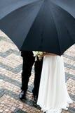 La mariée et le marié Photographie stock libre de droits