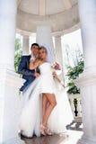 La mariée et le marié photographie stock