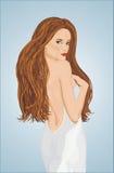 La mariée grasse Image libre de droits