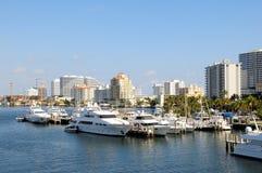 La marina, bateaux, fait de la navigation de plaisance la Floride photo stock