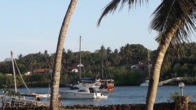 Indian ocean. La marina ,Creek,sunsets,boats Royalty Free Stock Image