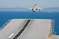 La marina de guerra española conduce ejercicios navales imágenes de archivo libres de regalías