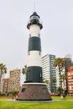 La Marina Lighthouse in Miraflores, Lima, Peru Stock Photos