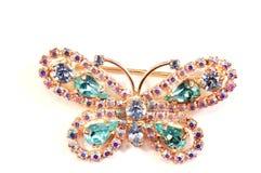 La mariposa azul Imagen de archivo