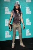 La marque de Russell au film 2012 de MTV attribue la salle de presse, amphithéâtre de Gibson, la ville universelle, CA 06-03-12 Images libres de droits