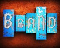 La marque Word représente des marques déposées stigmatisant l'illustration 3d illustration libre de droits