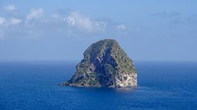La Martinica è l'isola dei Caraibi piacevole immagini stock libere da diritti