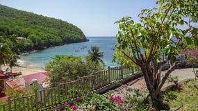 La Martinica è l'isola dei Caraibi piacevole immagini stock