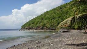 La Martinica è l'isola dei Caraibi piacevole fotografia stock