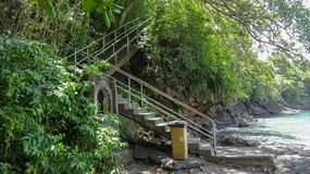 La Martinica è l'isola dei Caraibi piacevole fotografie stock