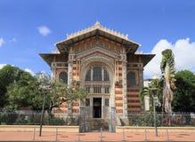La Martinique, Fort-de-France : Bibliothèque de lcher de SchÅ « Images stock