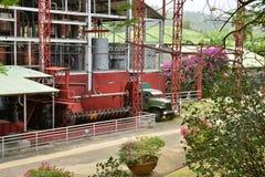 La Martinique, habitation pittoresque clémente en Le Francois photographie stock