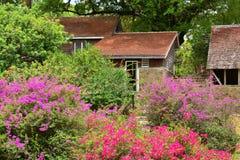La Martinique, habitation pittoresque clémente en Le Francois dans les Antilles photos libres de droits