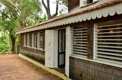 La Martinique, habitation pittoresque clémente en Le Francois dans les Antilles Photo libre de droits