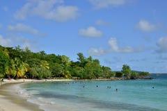 La Martinique, ville pittoresque de Riviere Pilote dans les Antilles Image libre de droits