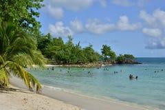 La Martinique, ville pittoresque de Riviere Pilote dans les Antilles Images libres de droits