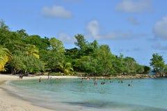 La Martinique, ville pittoresque de Riviere Pilote dans les Antilles Photos libres de droits