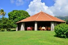 La Martinique, ville pittoresque de Saint Pierre dans les Antilles photo libre de droits