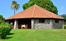 La Martinique, ville pittoresque de Saint Pierre dans les Antilles Images stock