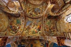 La Martorana教会在巴勒莫,意大利 库存图片