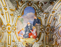 La Martorana教会在巴勒莫,意大利 免版税图库摄影