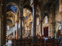 La Martorana Palermo Sicilien Italien arkivfoton