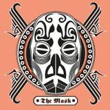 La maschera Immagine Stock