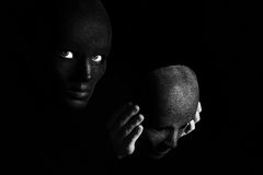 La maschera Fotografie Stock Libere da Diritti