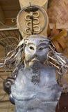 La maschera del ferro immagine stock
