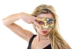 La mascherina Fotografia Stock Libera da Diritti