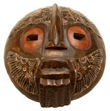 La mascherina africana Immagini Stock Libere da Diritti