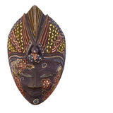La mascherina africana Fotografie Stock