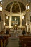 La massa in chiesa Fotografia Stock Libera da Diritti