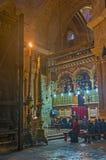 La masse franciscaine photo stock