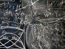 La matematica Immagini Stock