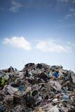 La materia che comprate oggi, farà domani i rifiuti Fotografia Stock Libera da Diritti