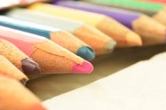 La matita di colore Immagine Stock