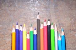 La matita di colore Fotografia Stock