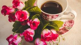 La mattina è perfetta per il vostro caffè favorito, Immagini Stock Libere da Diritti