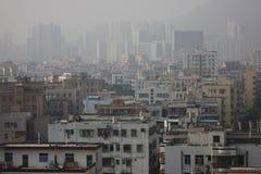 La mattina di Shenzhen Immagine Stock Libera da Diritti