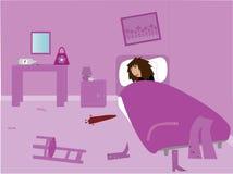 La mattina dopo royalty illustrazione gratis