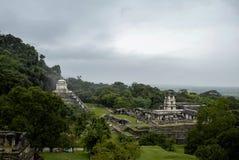 La Maya de Palenque arruina en Chiapas México imagen de archivo