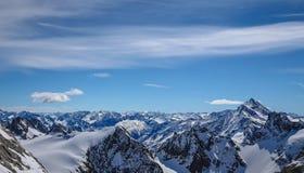 La mayoría del landsacpe hermoso de la nieve Imagen de archivo libre de regalías